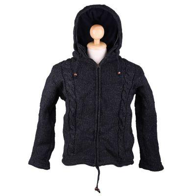 Vlnený sveter Black Uplift | S, M, L, XL, XXL