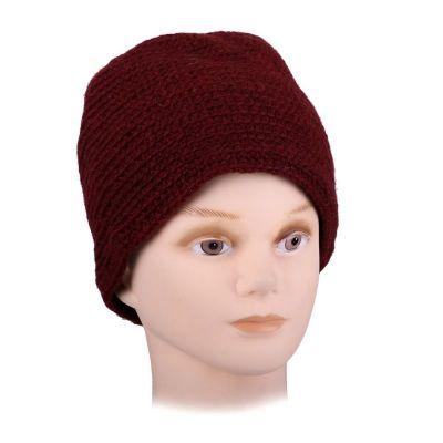 Vlnená čiapka Arna Red