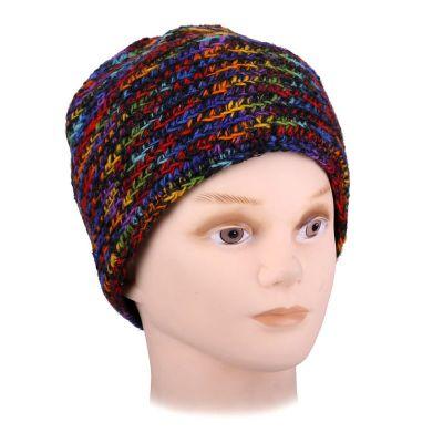 Vlnená čiapka Arna Rainbow