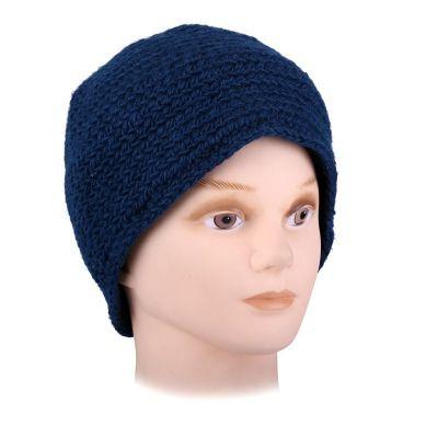 Vlnená čiapka Arna Blue
