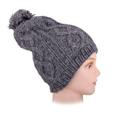Vlnená čiapka Lembar Grey