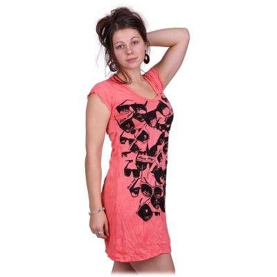 Šaty (tunika) Sure Sunglasses Pink | S