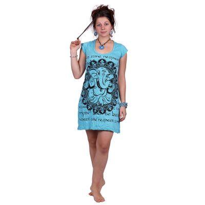 Šaty (tunika) Sure Ganesh Turquoise   S, M, L, XXL