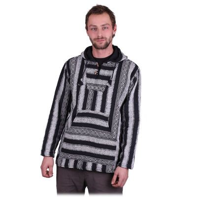 Pánska etno mikina Besar Berat Grey | M, L, XL, XXL