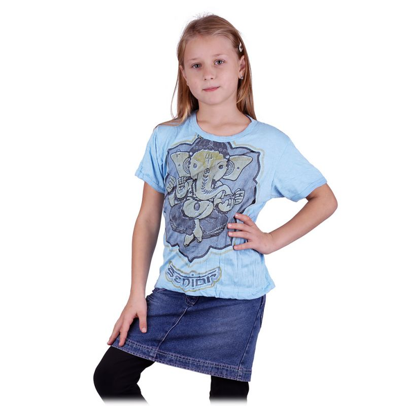 Tričko Sure Ganesh Blue