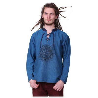 Kurta Matahari Pirus - pánska košeľa s dlhým rukávom | M