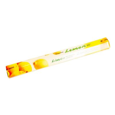 Vonné tyčinky Darshan Lemon | Krabička 20 tyčiniek, Balenie 6 krabičiek za cenu 5