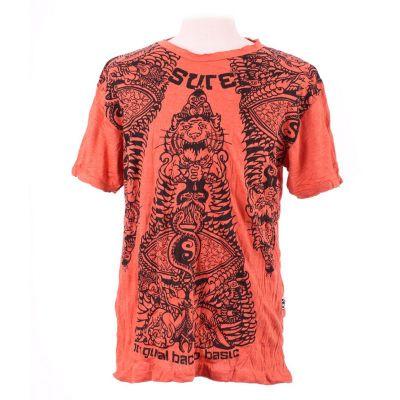 Pánske tričko Sure Animal Pyramid Orange | M, L, XL