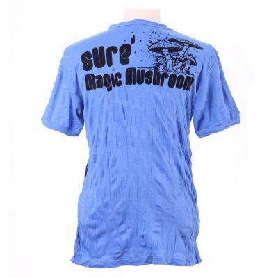 Pánske tričko Sure Magic Mushroom Blue