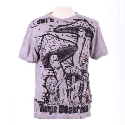 Pánske tričko Sure Magic Mushroom Grey | L, XL
