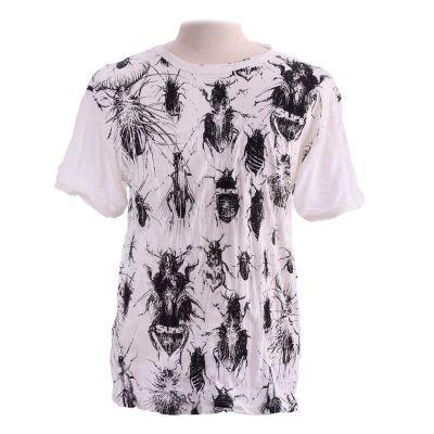 Pánske tričko Sure Bugs White | L