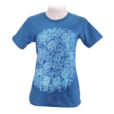 Tričko Twelve Owls Turquoise