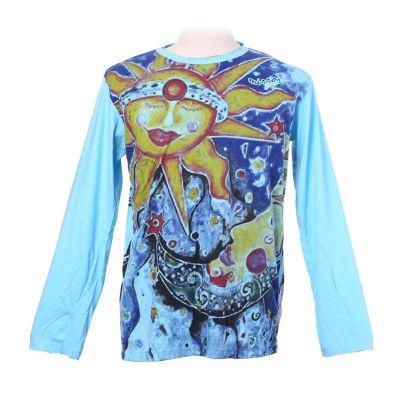Tričko Mirror s dlhým rukávom - Sun&Moon | M, L, XL