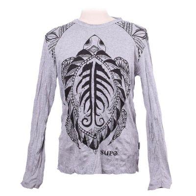 Pánske tričko Sure s dlhým rukávom - Turtle Grey | M, XL